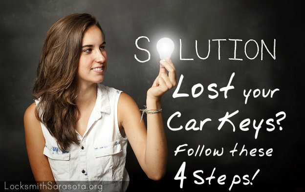 4 Steps To Take When You Lose Your Car Keys